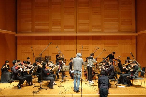 Recording of the concert of Department of Musicology, Keio University